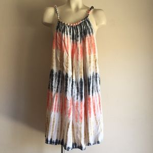 Tie die dress
